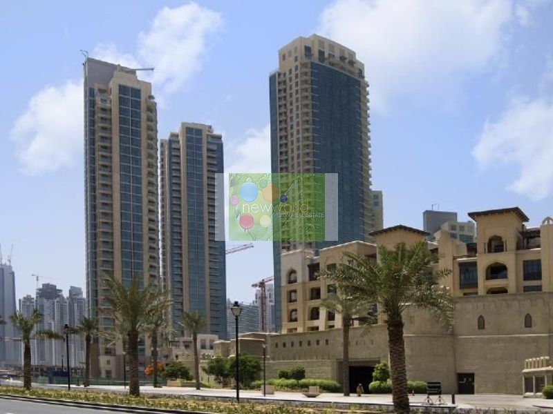 Burj Residences-Upgraded 2 Bedroom Apartment-Fountain View-Vacant