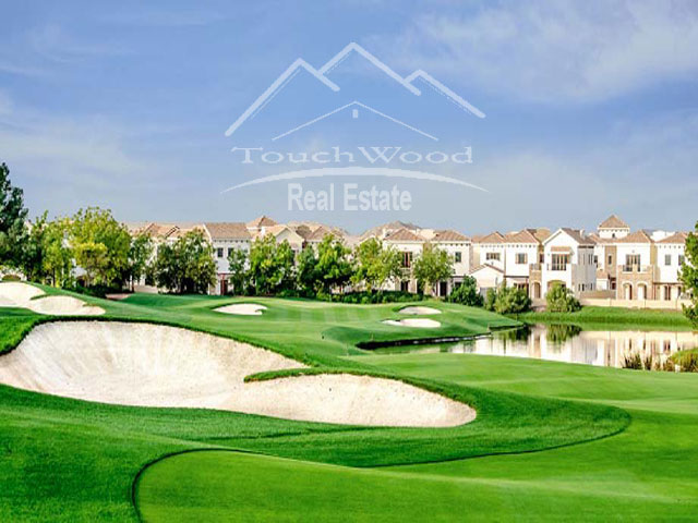 Offer Of The Day Xxl 5 B/r Villa Gardens View In Orange Lake Jumeirah Golf Dubai